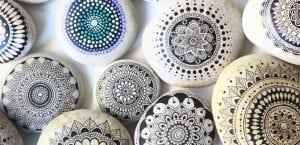 Piedras tipo mandala