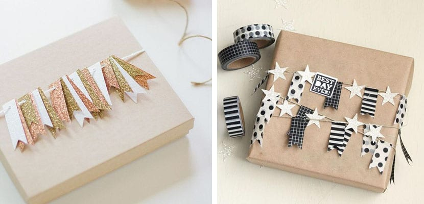 Regalos con washi tape