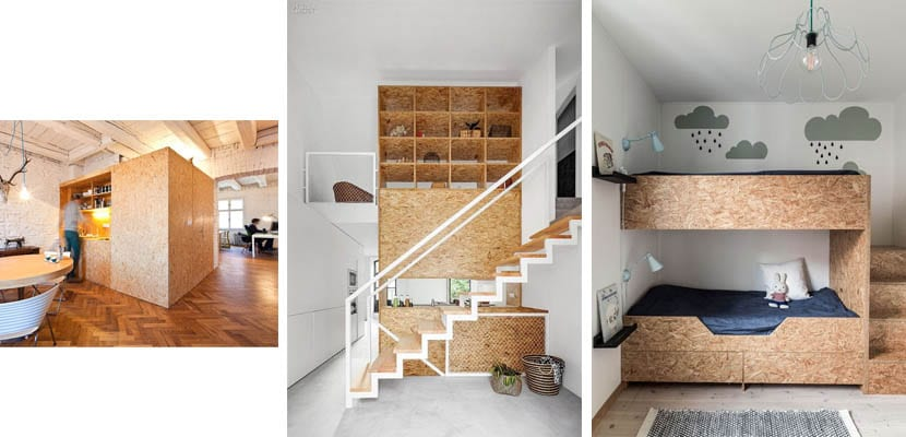 Tableros osb caracter sticas y usos for Aplicaciones de decoracion de interiores