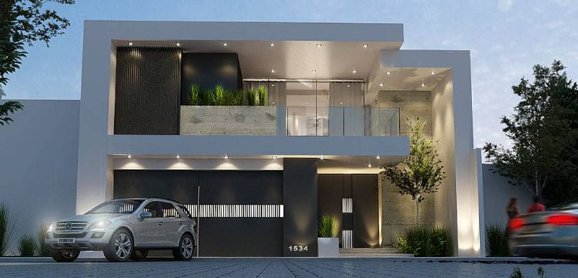 Iluminación en las fachadas