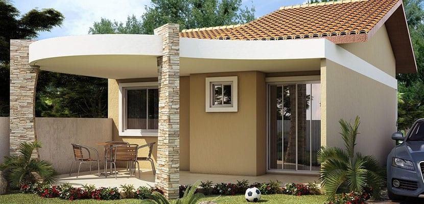 Descubre c mo elegir de manera simple las fachadas de casa - Fachadas de casas pintadas ...