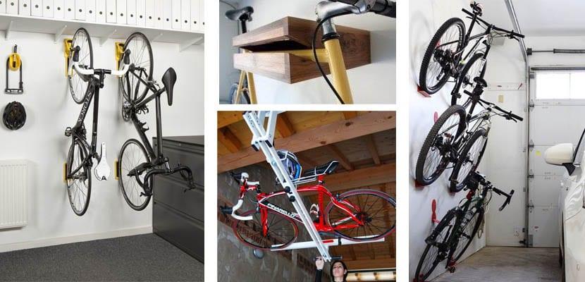 Garaje moderno: bicicletas