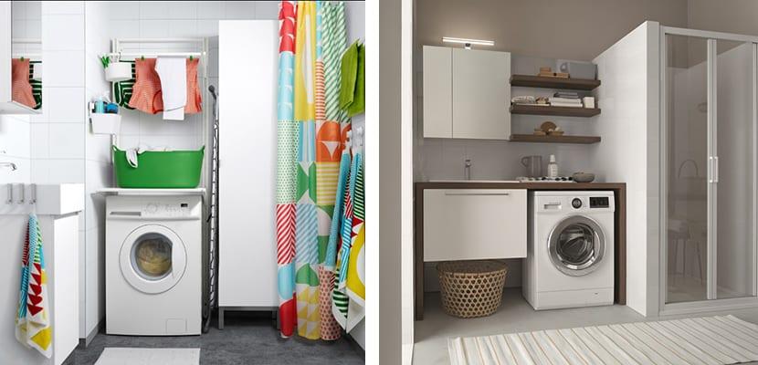 Compra un mueble de lavadora para la zona de la colada - Armario para lavadora ...