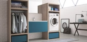 Mueble de lavadora