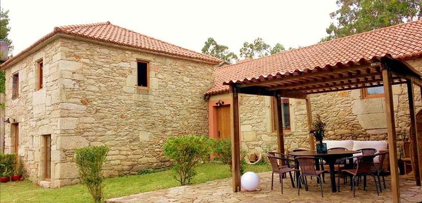 Casa gallega de piedra