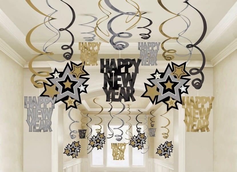 decoracion para año nuevo