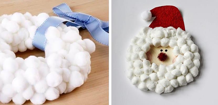 Manualidades de algodón