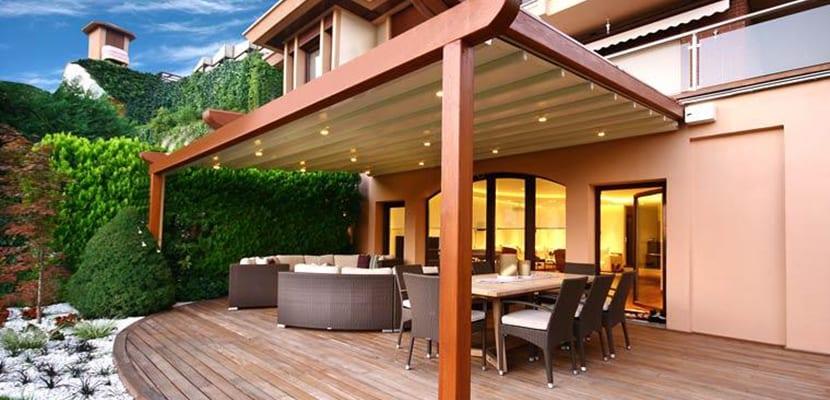 Por qu tener un estupendo porche de madera en casa - Que es un porche en arquitectura ...