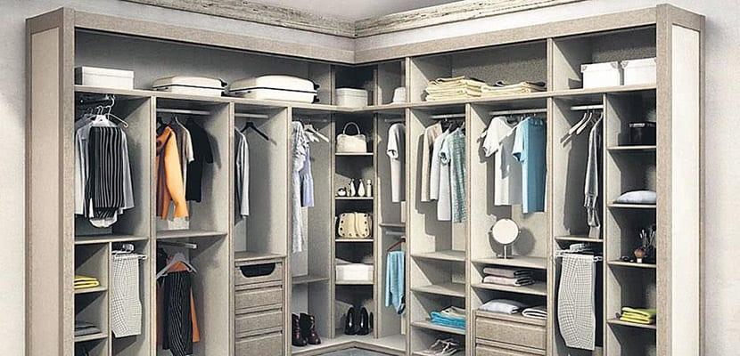 Mueble para la ropa