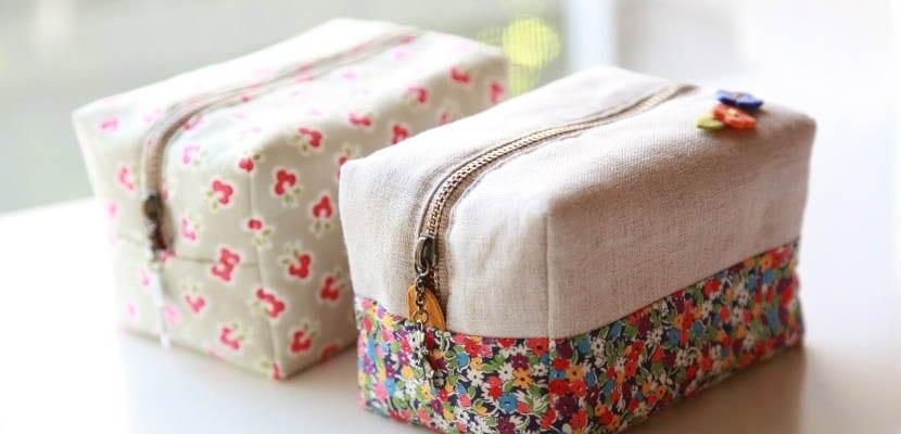 DIY costura creativa: Estuche con cremallera