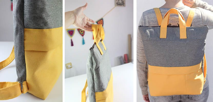 DIY costura creativa: Mochila