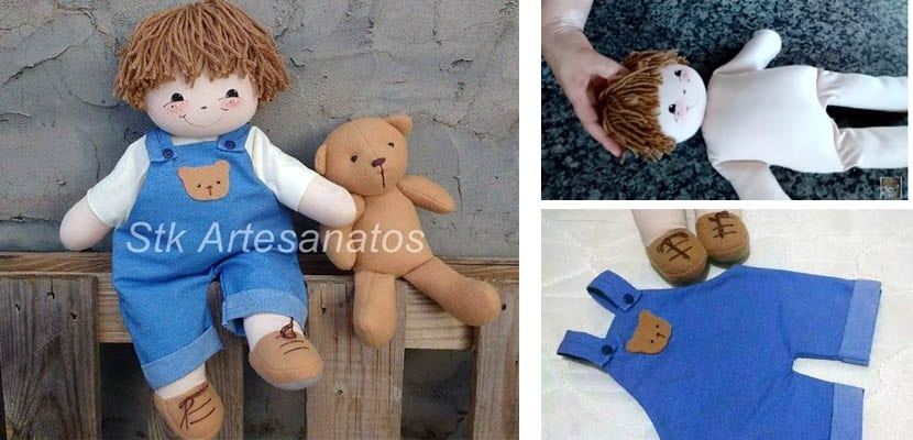 DIY muñeco de trapo