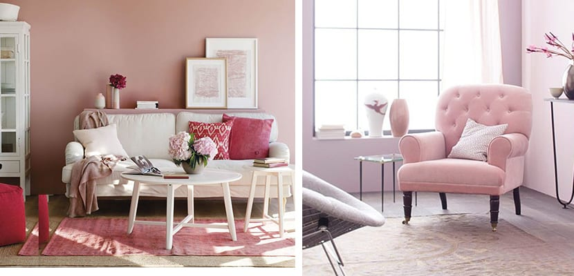 Salones rosas