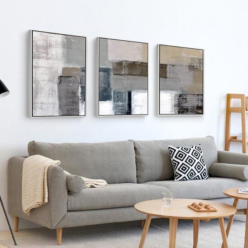 cuadros en el salon originales