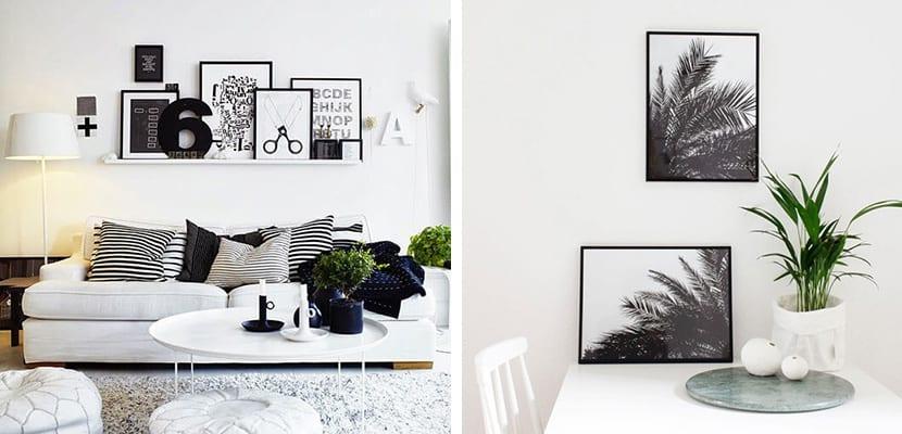 Láminas en blanco y negro