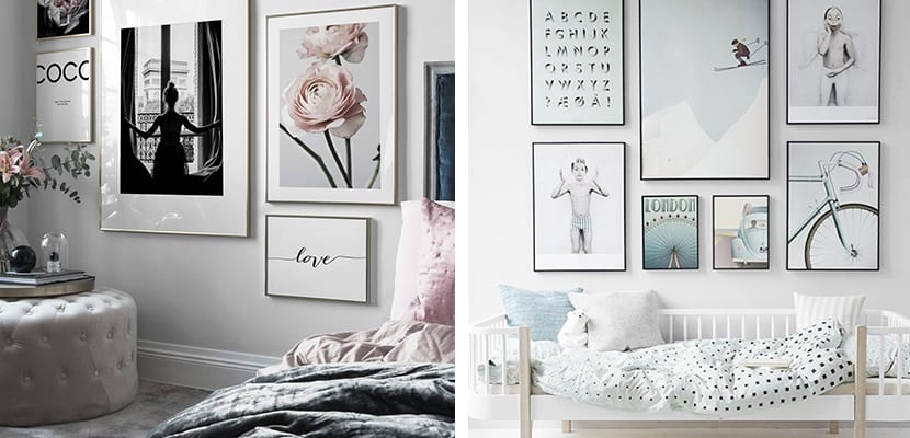 Láminas decorativas para el dormitorio