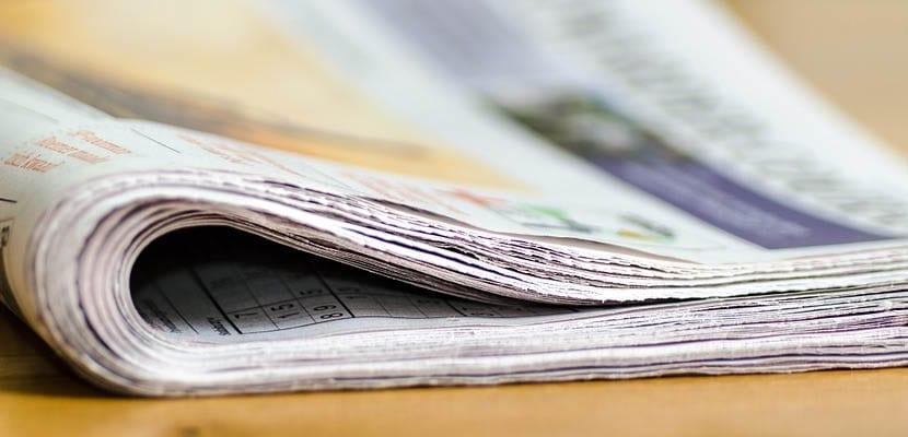 Periódicos para secar cristales