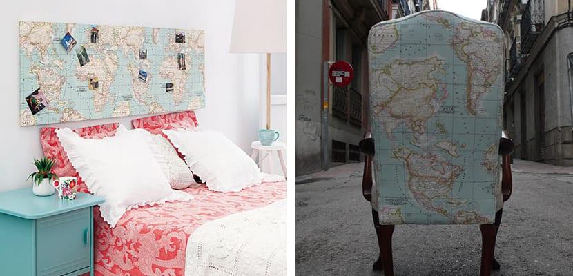Muebles de mapamundi