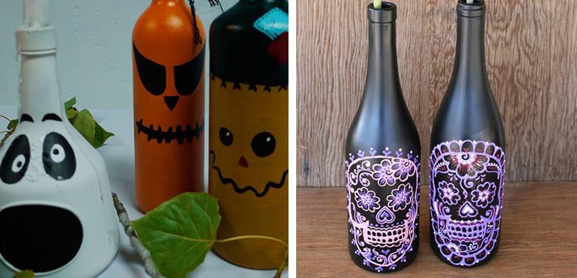 Botellas de Halloween