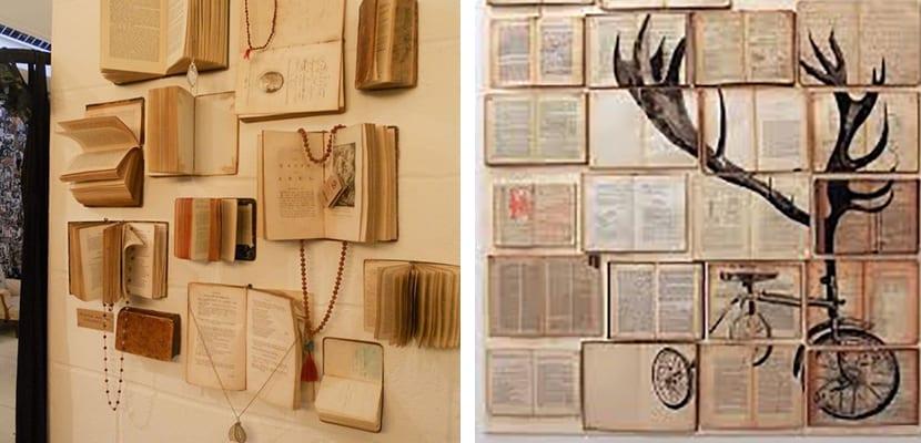 Libros en las paredes
