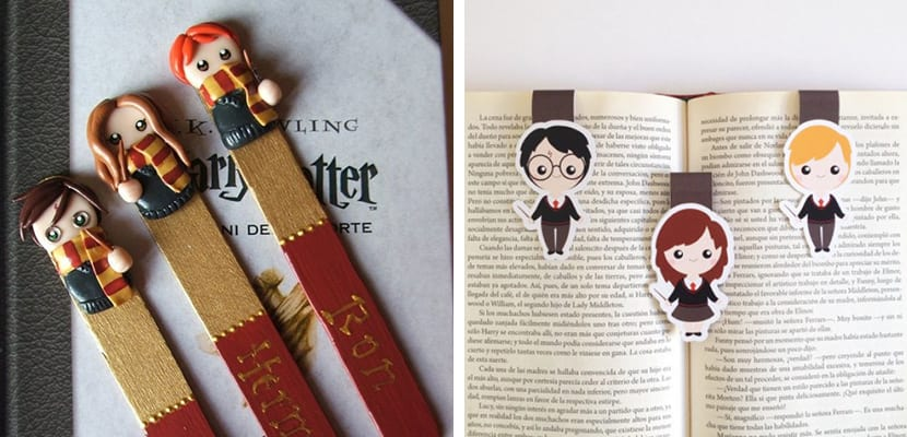 Marcapáginas de Harry Potter