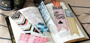 Marcapáginas de libros