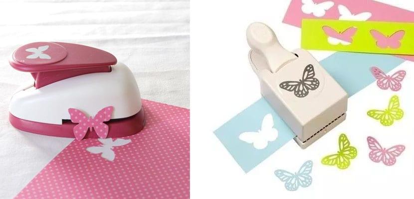 Troqueladoras con forma de mariposa