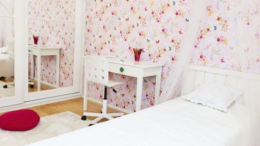papel pintado para dormitorio principal