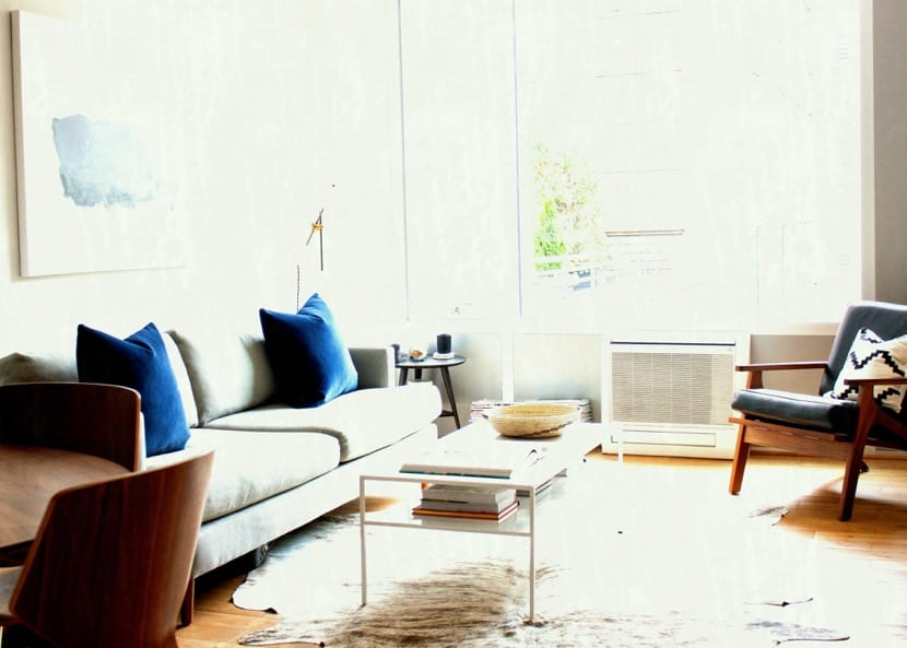 salon sencillo decorado para parejas