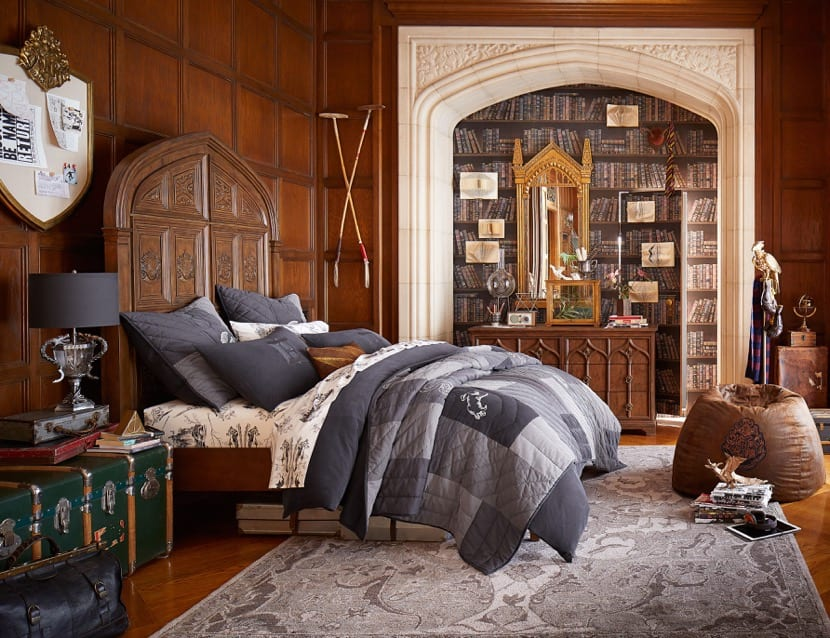 dormitorio de harry potter