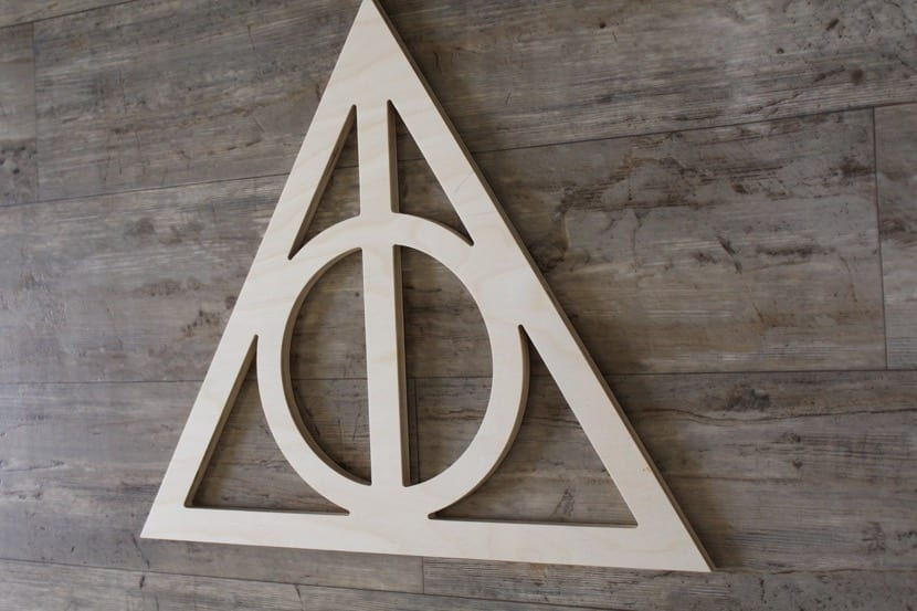simbolo de harry potter para decorar