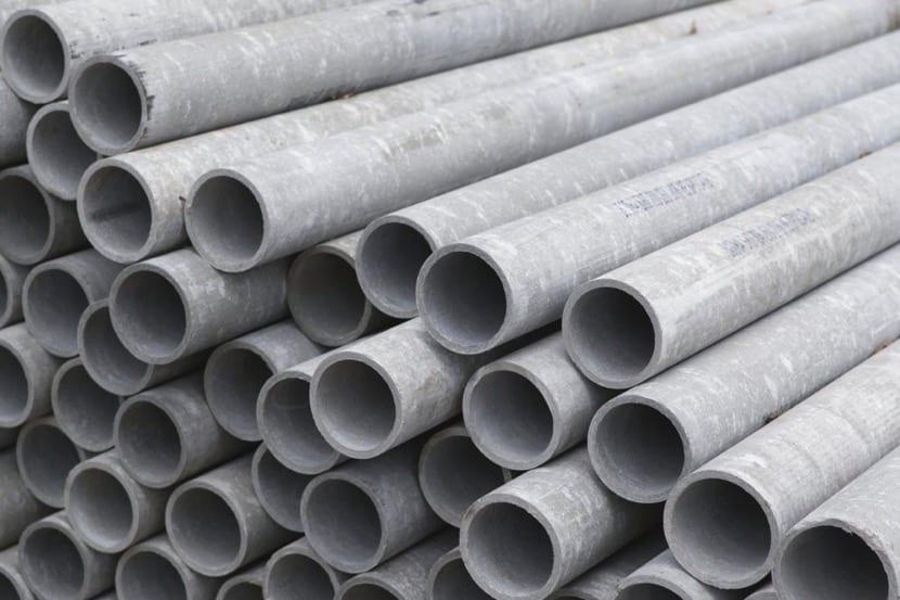 asbesto tubos de hogar