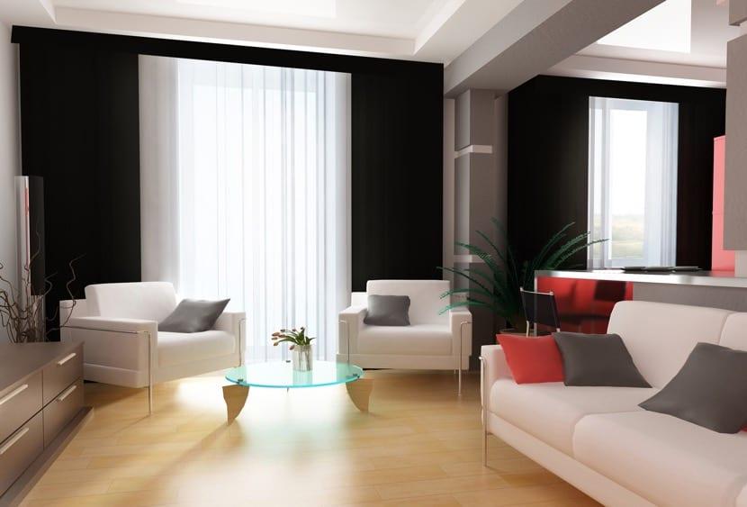 cortinas creativas dos colores