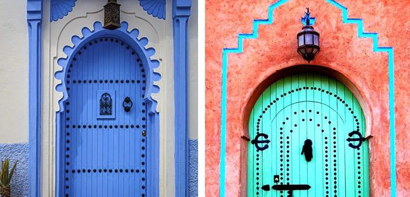 Puertas de estilo árabe