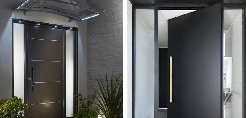 Puertas modernas
