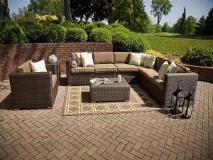 alfombra para la terraza