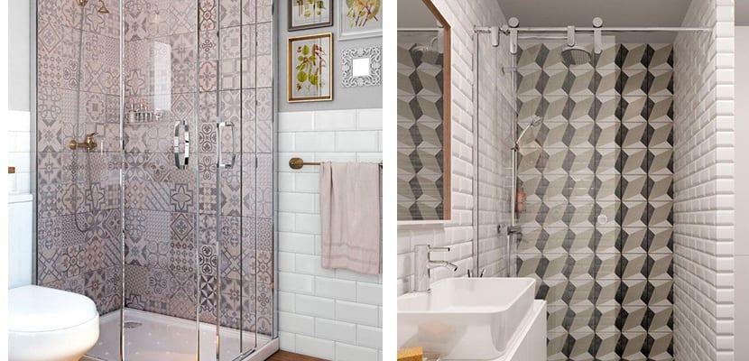 Azulejos en la ducha