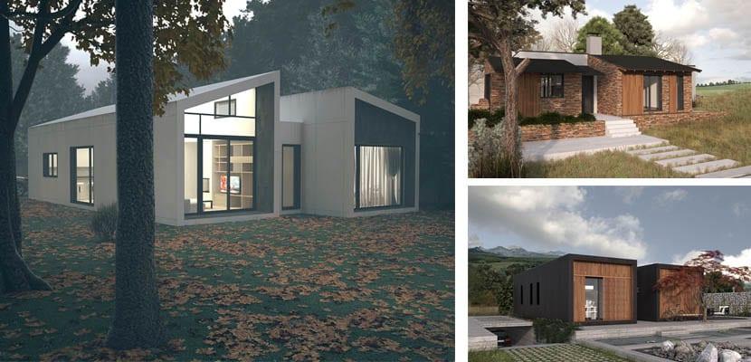 Casas modulares Atlantida Homes