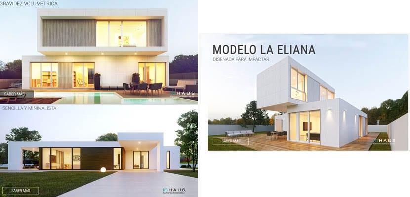 Casas modulares Inhaus