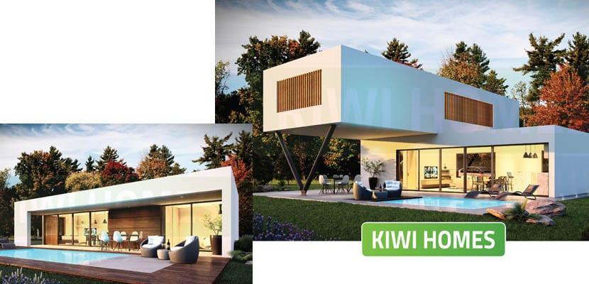 Casas modulares Kiwi Homes