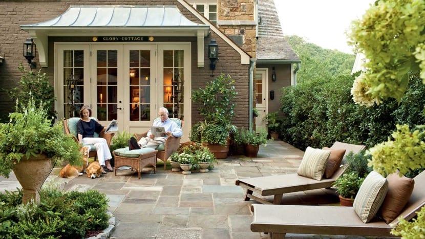patio perfecto para todo el año