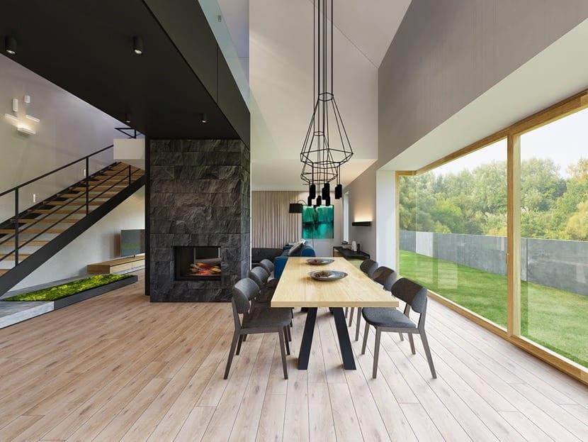 hogar moderno pero tradicional