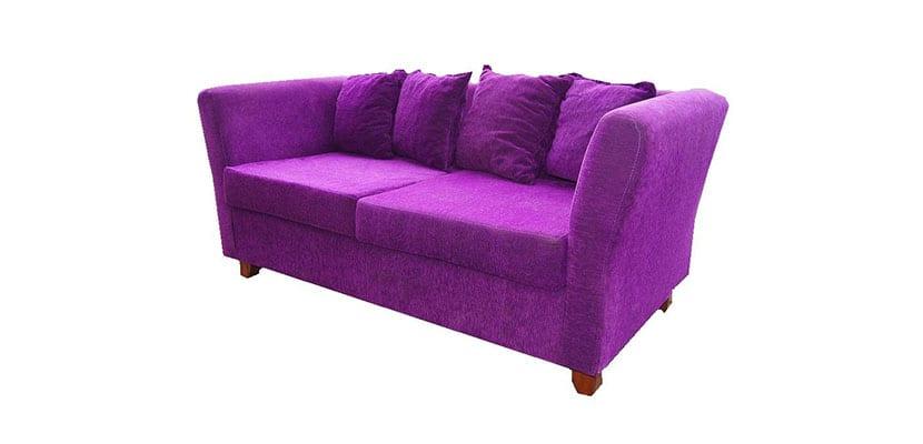 sillón de chenilla