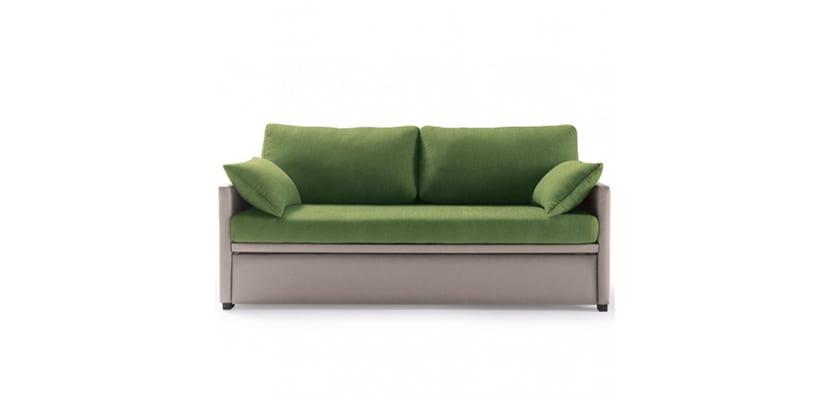 Sofá cama nido verde