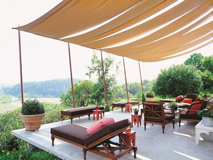 cubierta para una bonita terraza