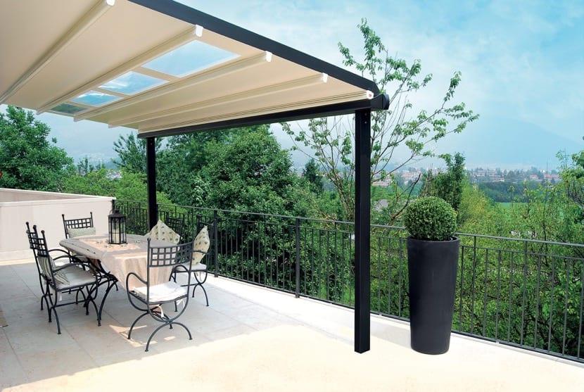 cubierta para una terraza