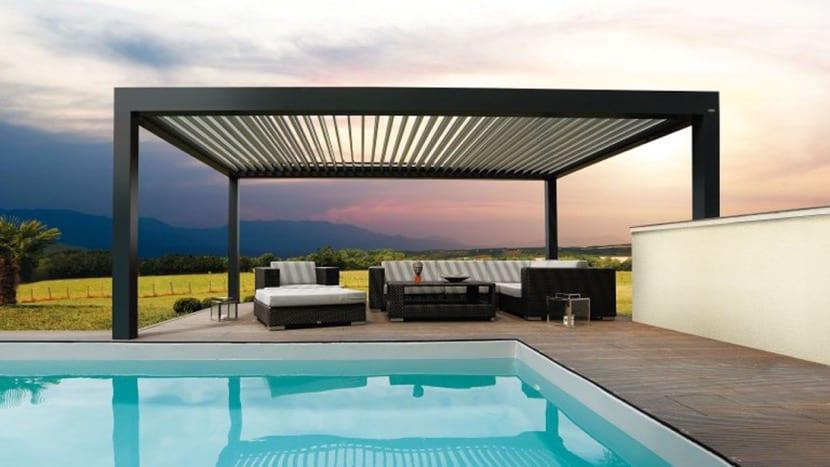 cubierta para la terraza