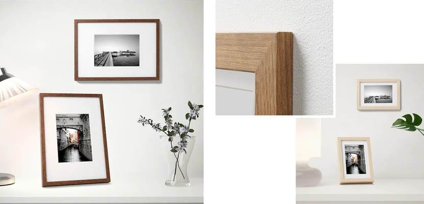Marcos de fotos de Ikea