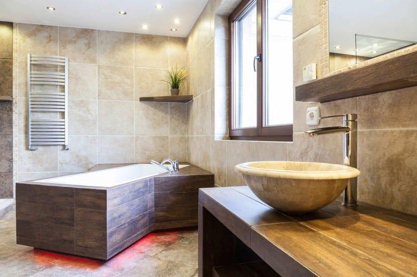 baño precioso y bien ventilado