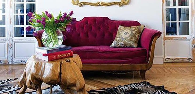 Muebles borgoña